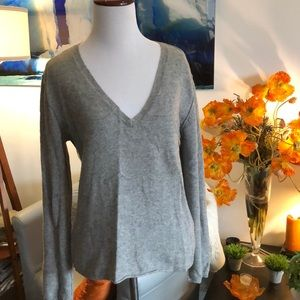 ZADIG & VOLTAIRE 100% cashmere gray sweater